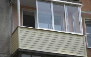 Как крепить сайдинг на балконе