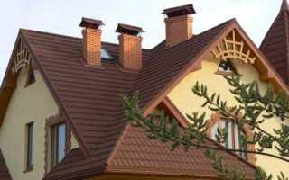 Стропильная система многощипцовой крыши схема