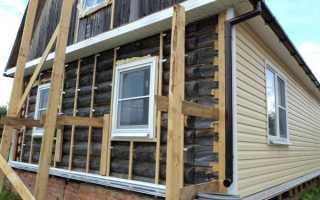 Утеплитель для наружных стен деревянного дома