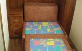 Мебель для лоджии своими руками