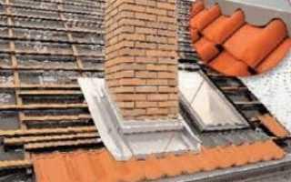 Как заделать трубу на крыше из металлочерепицы