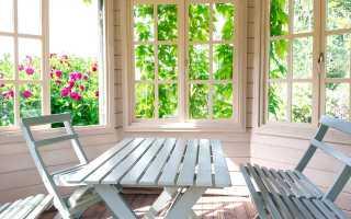 Обычные деревянные окна без стеклопакета