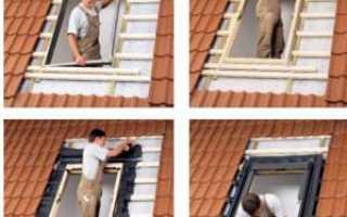 Врезные окна в крышу