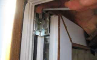 Как регулируются пластиковые двери?