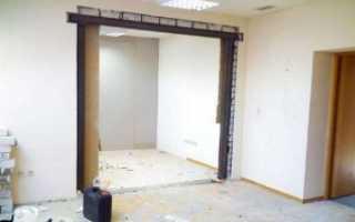 Можно ли делать проем в несущей стене?