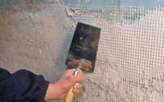 Как выровнять стены в туалете под плитку