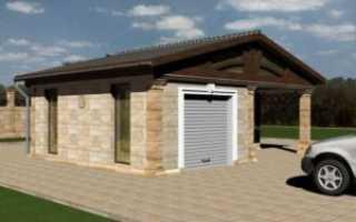 Чем покрыть крышу гаража дешево
