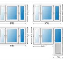 Размеры деревянных окон по ГОСТу