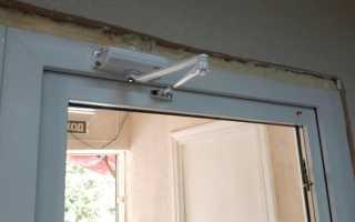 Как отрегулировать доводчик двери домофона?