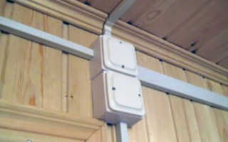 Как проложить кабель канал по стене