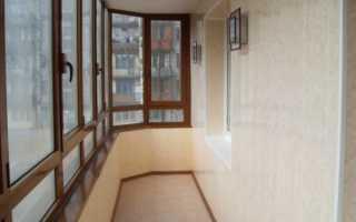 Как красиво отделать балкон внутри