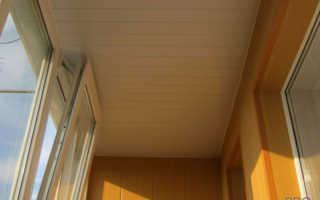 Какой потолок лучше сделать на лоджии