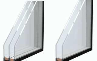 Какая разница между однокамерным и двухкамерным стеклопакетом