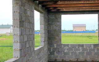 Расстояние между несущими стенами в частном доме