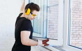 Технология установки пластиковых окон в панельном доме