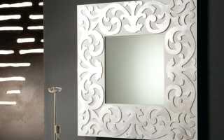 Как прикрепить большое зеркало к стене