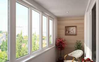 Теплые раздвижные окна для балкона