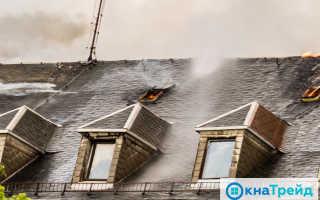 Предел огнестойкости окон ПВХ