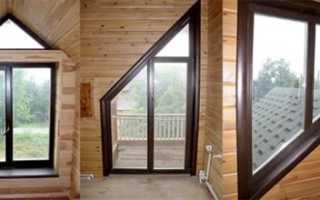Как сделать обналичку окон в деревянном доме