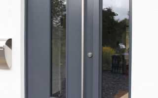 Как регулировать алюминиевые двери?