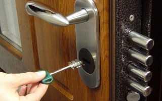 Как закрыть межкомнатную дверь без замка?