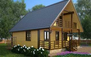 Варианты пристроек к дому с мансардной крышей