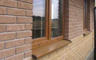 Монтаж отливов на окна инструкция