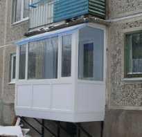 Пристроить балкон на первом этаже сколько стоит
