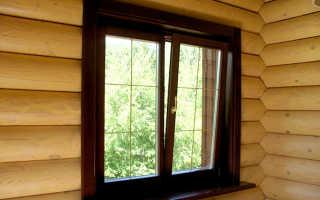 Монтаж стеклопакетов в деревянном доме