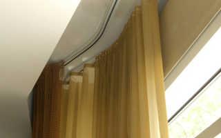 Ширина потолочного карниза для штор