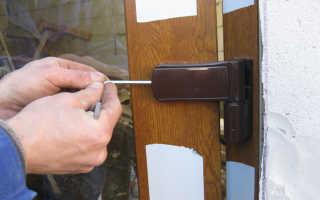 Как регулировать двери ПВХ?