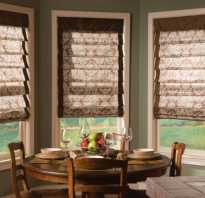 Как установить римские шторы на пластиковые окна