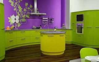 Как правильно покрасить стены на кухне