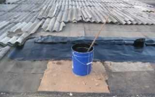 Чем залить крышу гаража чтобы не протекала