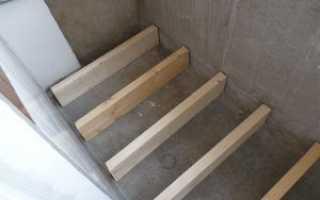 Как поднять уровень пола на балконе