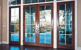 Как выбрать пластиковую дверь в частный дом?