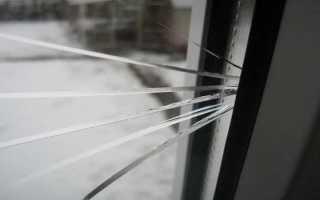 Как вынуть стекло из пластикового окна
