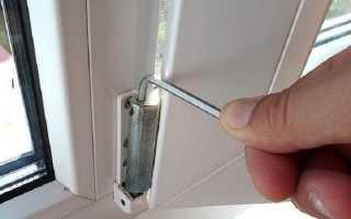 Регулировка металлопластиковых окон