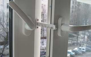 Как крепить гребенку на пластиковое окно