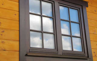 Установка пластиковых окон в бревенчатый дом