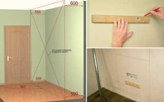 Как закрепить шкаф к стене из гипсокартона