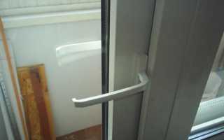 Как открыть пластиковую дверь снаружи?