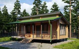 Финский дом с односкатной крышей проекты