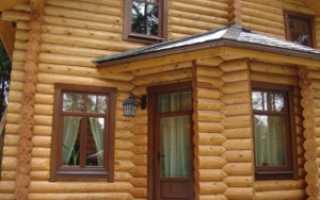 Как установить пластиковые окна в бревенчатом доме