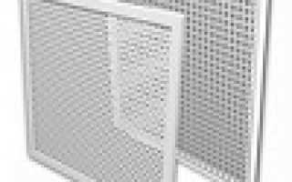 Решетка на подоконник для радиатора отопления