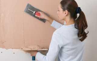 Нужно ли шпаклевать стены перед поклейкой обоев