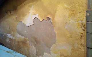 Как укрепить старую штукатурку на стене