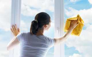 Как очистить пластиковые окна от грязи