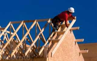 Как рассчитать стропильную систему двухскатной крыши