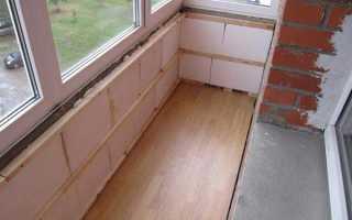 Как правильно отделать балкон